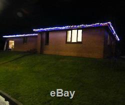 1000 10m Safe Low Voltage Led Cluster Garland Christmas Lights White Or Coloured