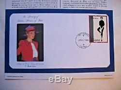 101 Worldwide Tribute To Princess Diana First Day Covers