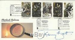12 October 1993 Sherlock Holmes Signed Jeremy Brett Rm First Day Cover Shs