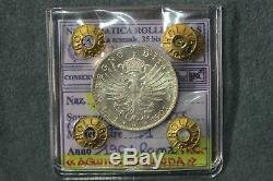 161 Vittorio Emanuele III 1 Lira 1901 (Aquila Sabauda) FDC STATO ZECCA