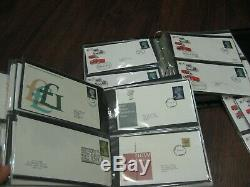 186 First Day Covers Fdc High Value Machin Definitive Collection Stamps 2 Album