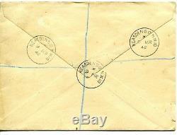 1942 2/6d GREEN'ARMS' DESIGN GREAT BRITAIN KING GEORGE 6th PLAIN FDC VGC RARE