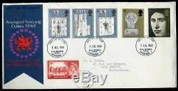 1969 INVESTITURE FDC 5s Caernarvon Castle RARE First Day Cover Wales