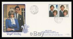 1981 Charles & Diana Wedding Illustrated First Day Cover Diss. No. 37 Of 50