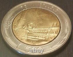1982, 500 Lire Repubblica Italiana, FDC, Errore di Conio