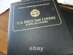 1992 -1998 250 Plus Postal Commemorative Society First Day & Special Covers