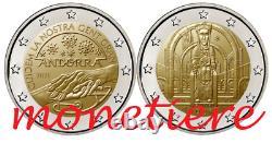 2 euro Andorra 2021 UNC FDC 2 monete in coincard Originali