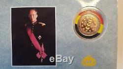 === 20 ECU Or et Argent Belgique 1990 Belgïe Goud en Zilver KM# 177 FDC ===