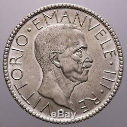 20 Lire 1927 Littore Spl-fdc Vittorio Emanuele III Perizia Nip Grimoldi