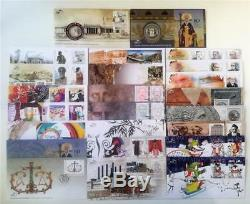 2017! All The First Day Covers Of Hellenic Post