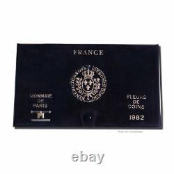#23921 Monnaie, France, Set, 1982, Paris, FDC, Gadourypage 287