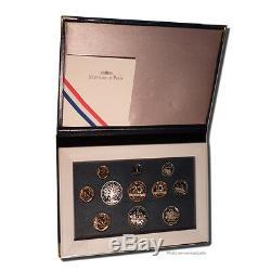 #23946 Monnaie, France, Proof Set Franc, 1995, Paris, FDC, Gadourypage 288