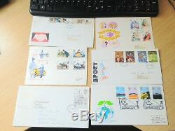 27 First Day Covers U. K
