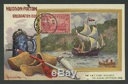 #372 On Pre-dated First Day Cover Sept 24, 1909 On Picture Postcard (xf) Wlm8117