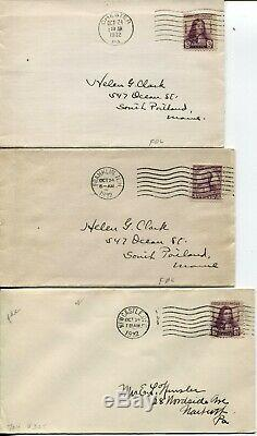 39 USA 1928-1934 FDC First Day Cover Stamps Postage Cover Collection