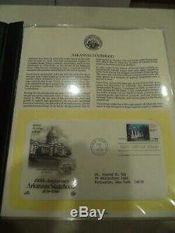 400+ U. S First Day Covers & Special Covers1980's Postage Stamps 6 Album Fdc Mint