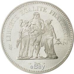 #472596 Monnaie, France, 50 Francs, 1974, FDC, Argent, KMP509, Gadoury223. P1