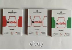 5 Euro Nutella 2021 Italia Trittico Monete FDC