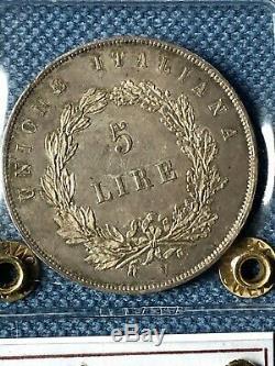 5 Lire 1848 Governo Provvisorio Venezia FDC