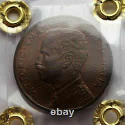 5 centesimi 1909 Prora FDC Rame Rosso Perizia F. Cavaliere