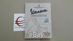 5 euro Italia 2019 FdC Italie Italy Italien VESPA bianca white blanc weiß