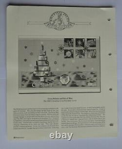 50p Isle of Man IOM Christmas Snowman 2003 Uncirculated First Day Cover