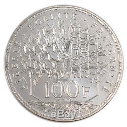 #52250 Monnaie, France, Panthéon, 100 Francs, 1996, Paris, FDC, Argent