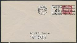 #567 On Worden First Day Cover CV $600 Bs8817