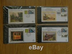 57 X Benham Silk First Day Covers In Excellent Condition Please See Photos