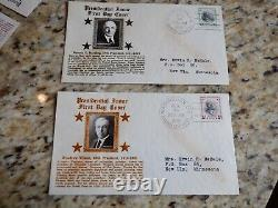 615+ Crosby Cachet First Day Covers FDC FDCs Scott# 798-980 incl. 3 sets Prexie