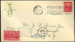 644, 1st JACKSON GEROW FIRST DAY COVER