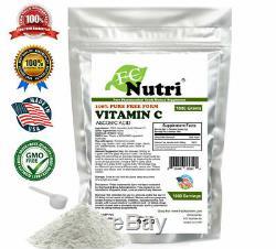 8.8 lb (4000g) 100% PURE Ascorbic Acid Vitamin C Powder NonGMO By FDC Nutrition