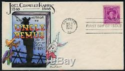 #980 Uncle Remus On Dorothy Knapp First Day Cover Handpainted Cachet Bt8302