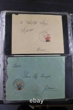 ALBANIA Covers 1913-90's FDC Postal Cards Rare Stamp Collection