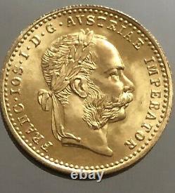 Austria 1 Ducat 1915 Franz Joseph I Restrike Gold. 986 FDC/BU
