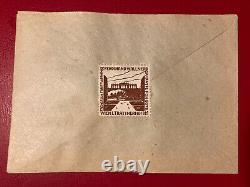Austria FDC, 10.9.1945 Heimkehrer, Ungeprüft