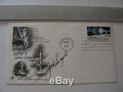 Authentic Apollo 13 Astro Jack Swigert Hand-Signed/Autographed Cover FDC NASA