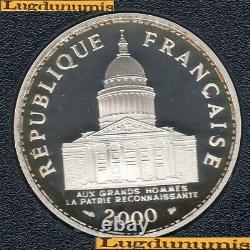 BE 2000 100 Francs Panthéon 2000 BE FDC 15 000 Exemplaires Provenant du coffret