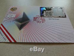 BLUE First Day Cover BLAU Crypto Stamp 1.0 FDC RARE ETH Erstag Ersttagsbrief CS1