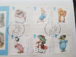 Beatrix Potter 2017 Stamp & Coin Cover Limited Edition FDC Low Number Of 351/750