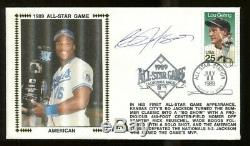 Bo Jackson Signed Gateway'89 FDC Autographed All Star Game MVP PSA/DNA AH18003