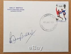 Bobby Moore Hand Signed England World Cup 1966 FDC with'Winners' stamp