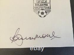 Bobby Moore Signed FDC