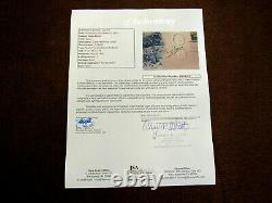Buzz Aldrin Apollo 11 Signed Auto Man's First Landing On The Moon 1969 Fdc Jsa