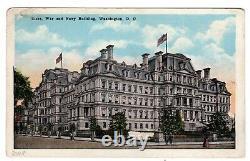 C3 First Day Use/ Flight 1918 Washington DC V. Scarce on Postcard