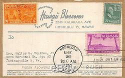 C46 80c Hawaii First Day piece removed from package 50663