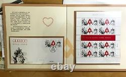 CHINA 2020 11 T11 PACK Full + FDC Fight the Virus Stamps