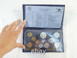 COFFRET Pieces France Monnaie de PARIS Fleurs De Coins 1982