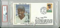 COOL PAPA BELL Signed 1st First Day Cover PSA/DNA 10 Auto Negro League HOFer