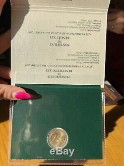 Citta' Del Vaticano Moneta Commemorativa 2 Euro 2005 Fdc Giornata Gioventu